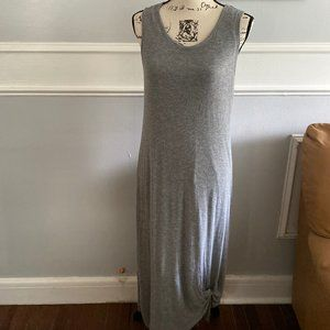 Time & True gray Jersey maxi dress size Large